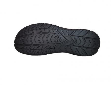 Сандалии кожаные ALS L-048 (черный)